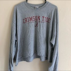 Oversized Alabama long sleeve